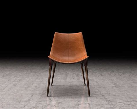 Modern Leather Dining Chair Eco Leather Dining Chair Ml Lamont Modern Chairs
