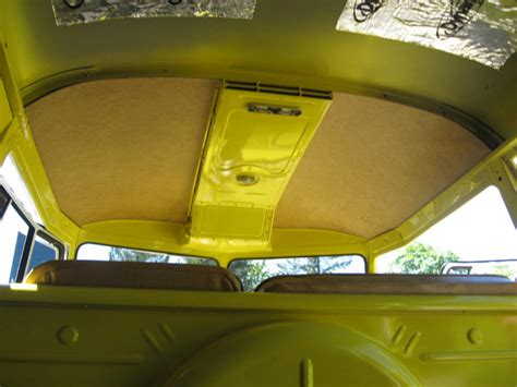 volkswagen cer inside how to install vw bus headliner newhairstylesformen2014 com