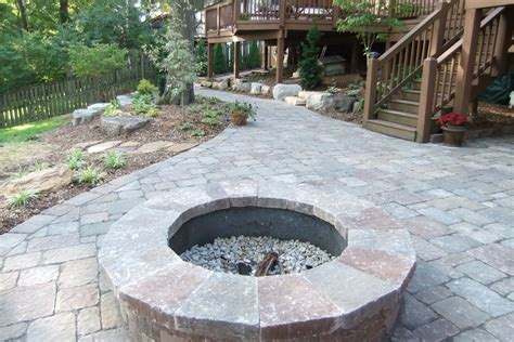 Stone Patio Ideas With Fire Pit Vintage Flooring Styles Patio Ideas With Firepit