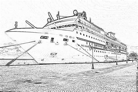 dessin bateau titanic coloriage bateau paquebot