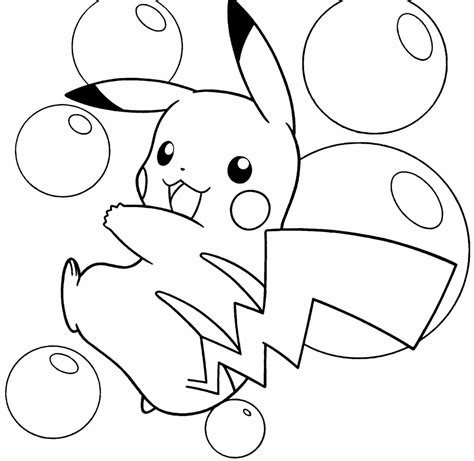 pokemon coloring pages pikachu pikachu coloring pages print color craft