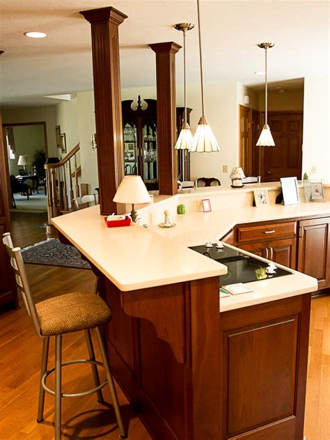 houzz kitchen island ideas custom kitchen islands