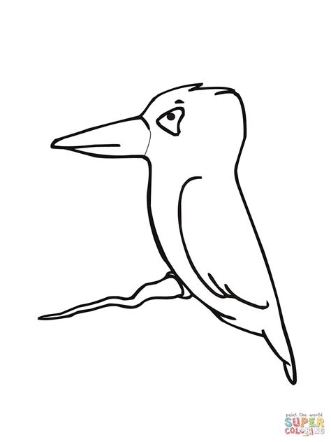 coloring pages kingfisher little cute kingfisher coloring online super coloring