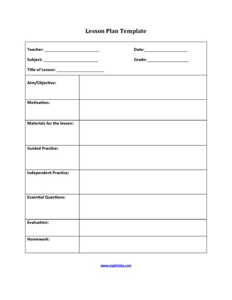 5 Step Lesson Plan Template five step lesson plan template 28 images search