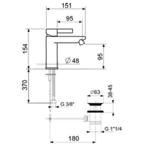 Bidet Dimensions by Dr840101 Bidet Mixer Dimensions Bacera