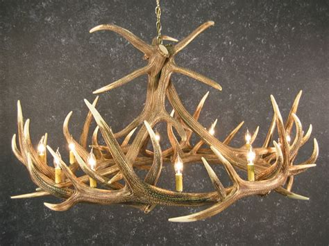 Deer Antler Chandelier For Sale Elk 9 Antler Chandelier Sale