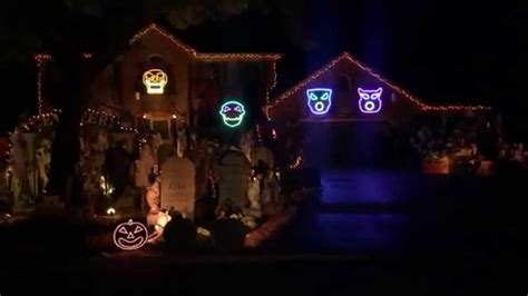 Halloween Light Show 2014 Sail Youtube Light Shows 2014