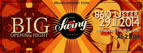 electro swing fever party flyer 183 electro swing fever 183 29 nov 2014 183 uster