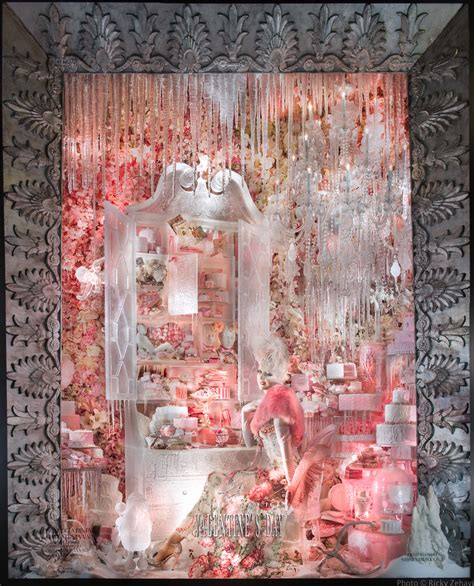 nyc valentines day ideas bergdorf goodman quot holidays on quot window displays