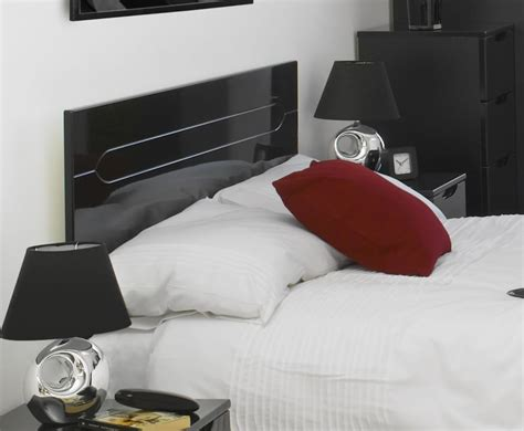 black wood headboards vogue black high gloss wooden headboard just headboards