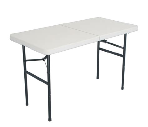 lifetime 4 foot table 28 4 ft plastic folding table duragood 4 foot rectangular