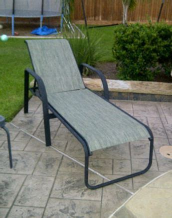 Chaise Lounge Repair Fabric Contemporary Replacement Zero Resling Patio Chairs