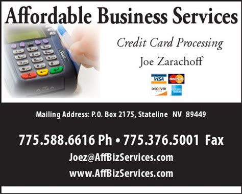 Credit Card Processing Business Plan