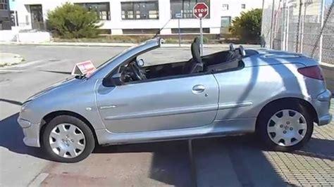 peugeot 206 quicksilver 2005 peugeot 206 c c cabrio quicksilver 1 6i 5995 youtube