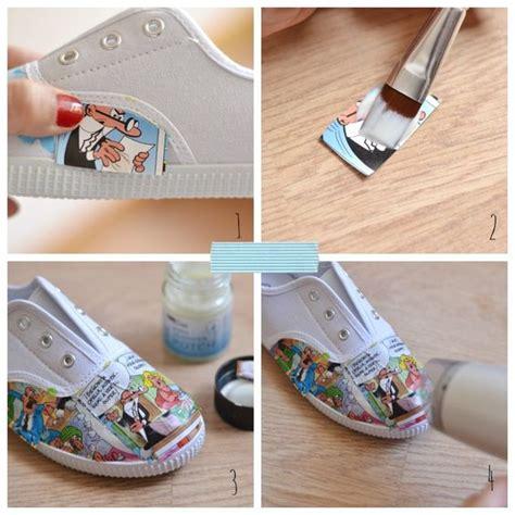 imagenes de unas zapatillas como customizar unas zapatillas paso a paso customizar