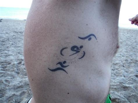 can you swim with a new tattoo de 25 bedste id 233 er inden for ironman p 229