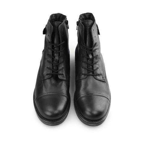 jones siti mens leather biker ankle boots