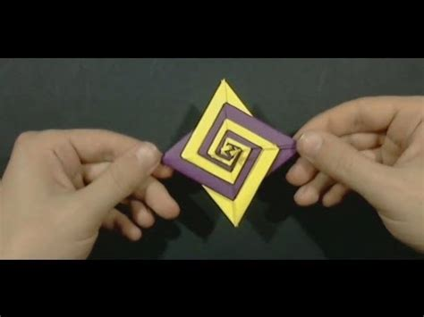 origami spiral by tomoko fuse yakomoga origami