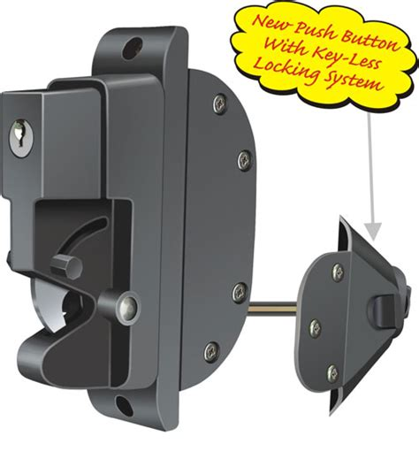 dual guard two way lockable hardware lock latch gate fence