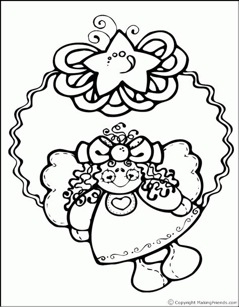coloring pages christmas wreath christmas wreath coloring page coloring home