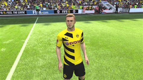 lengeschäft dortmund fifa 15 official player faces ft borussia dortmund psg