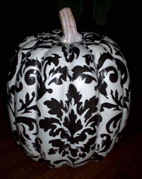Decoupage Pumpkin - decoupage pumpkin for the home