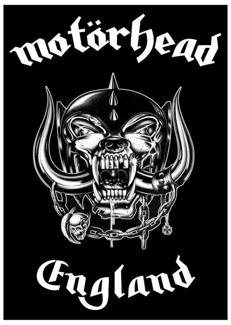 Motorhead Logo motorhead poster war pig lemmy band logo official