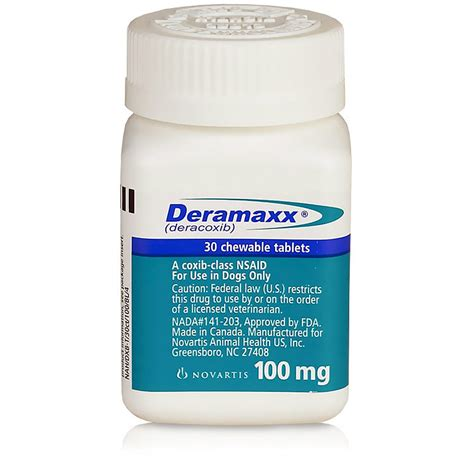 deramaxx dogs deramaxx 100mg 30 tablets chewable