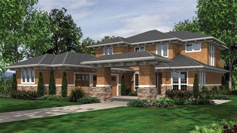 modern prairie house plans new prairie style home plans