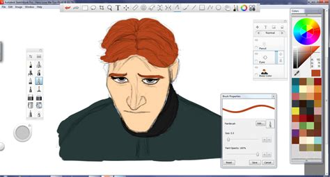 sketchbook pro new layer hans painted in autodesk sketchbook pro by teamhans on