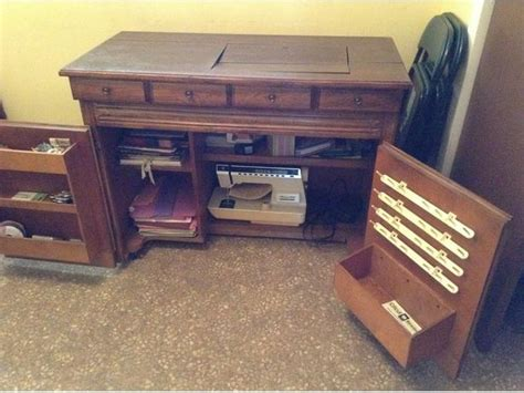 solid wood sewing machine cabinets solid wood sewing cabinet prince county pei