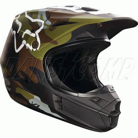 Helm Cross Fox V1 fox 2016 v1 camo helmet at dan s comp