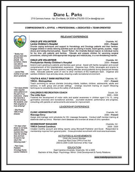 volunteer work on resume listing volunteer work on resume exle resume
