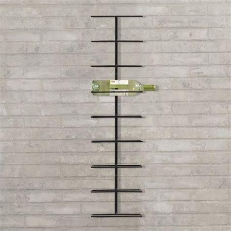 Modern Wall Mounted Wine Rack by Found It At Allmodern Elton 9 Bottle Wall Mounted Wine