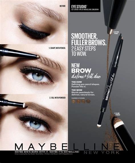 tattoo brow maybelline advert 25 best ideas about maybelline on pinterest maybelline