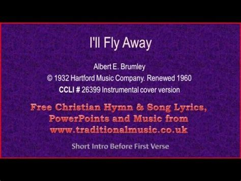 youtube music free song lyrics i ll fly away hymn lyrics music youtube