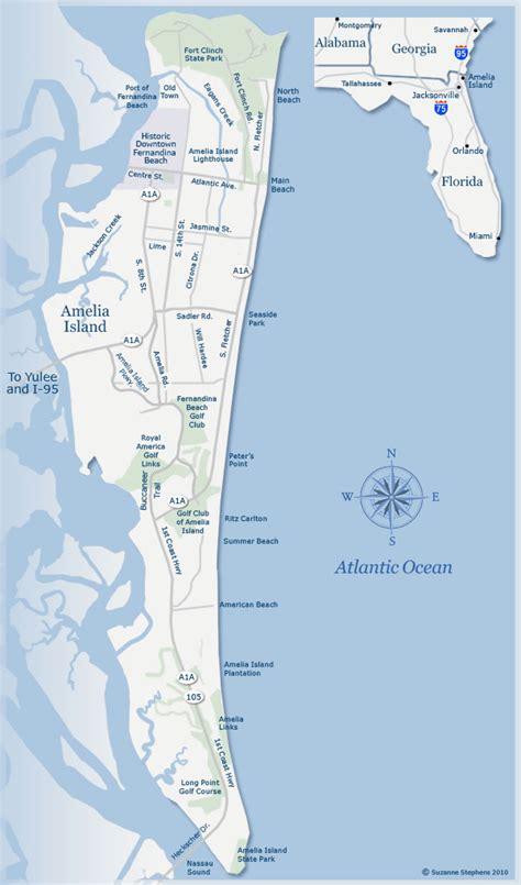 amelia island map of florida amelia island florida attractions restaurants and history