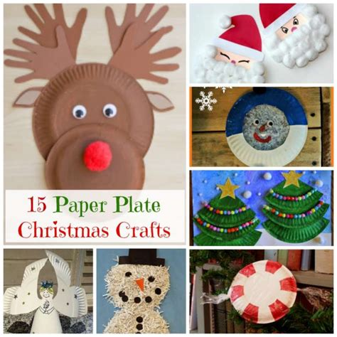 Crafts For Holidays - 15 paper plate christmas crafts from how wee learn