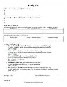 safety plan for suicidal clients template safety plan worksheet photos getadating