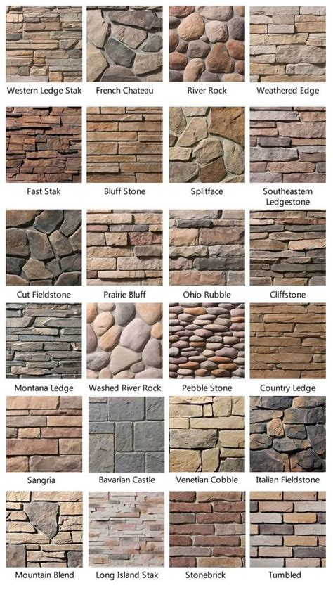 stone wall pattern names stone brick exterior services in portland or pictures
