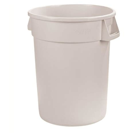 rubbermaid roughneck 32 gal black trash can with