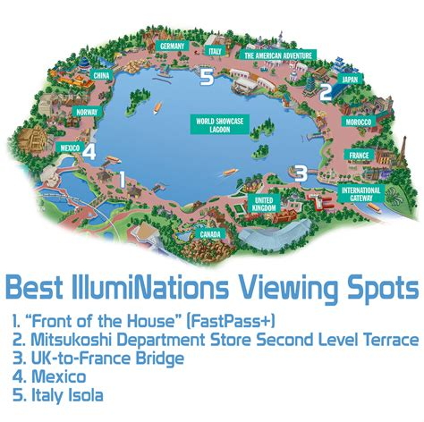 map of epcot disney tips tricks disney tourist