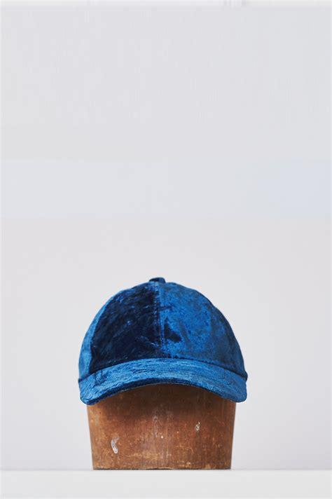 Cap Indigo colorant velvet cap indigo from assembly garmentory