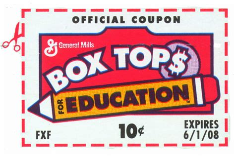 box tops clip fundraisers welcome