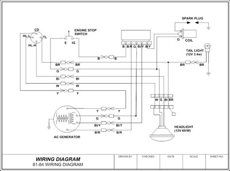wiring diagram template sle templates