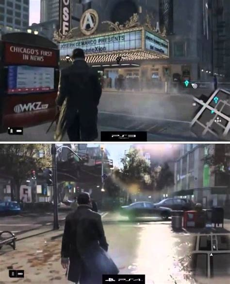 Bd Ps3 Kaset Watchdogs graphics comparison ps3 vs ps4 dogs