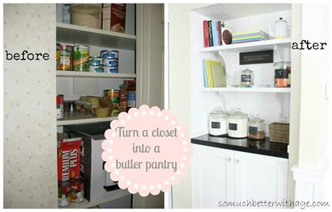 Turn Closet Into Pantry by Turn A Closet Into A Butler Pantry