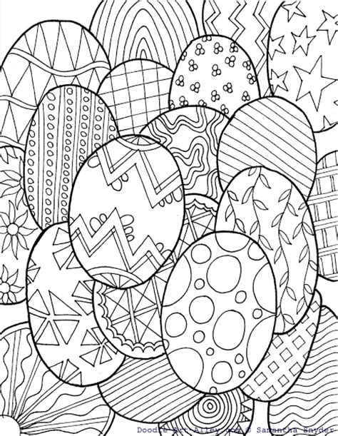 abstract easter coloring pages free coloring pages