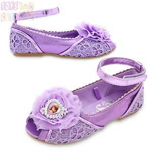 Disney princess sofia the first costume shoes for kids