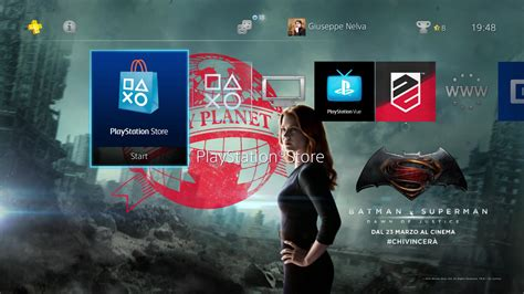 ps4 themes batman ps4 gets free batman v superman dynamic theme and lone